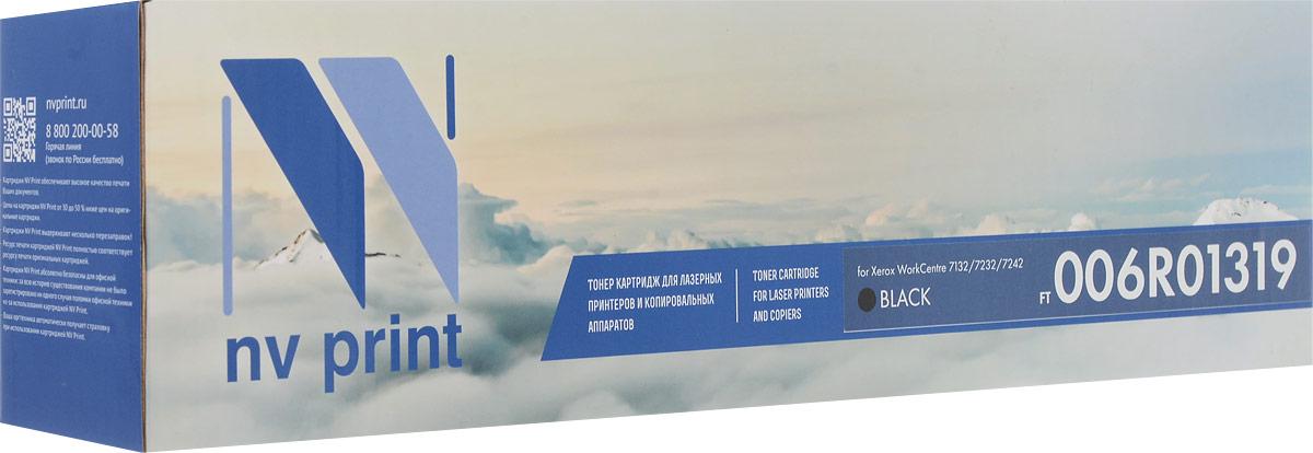 NV Print NV-006R01319Bk, Black тонер-картридж для Xerox WorkCentre 7132/7232/7242NV-006R01319BkСовместимый лазерный картридж NV Print NV-006R01319Bk для печатающих устройств Xerox - это альтернатива приобретению оригинальных расходных материалов. При этом качество печати остается высоким. Картридж обеспечивает повышенную чёткость чёрного текста и плавность переходов оттенков серого цвета и полутонов, позволяет отображать мельчайшие детали изображения.Лазерные принтеры, копировальные аппараты и МФУ являются более выгодными в печати, чем струйные устройства, так как лазерных картриджей хватает на значительно большее количество отпечатков, чем обычных. Для печати в данном случае используются не чернила, а тонер.