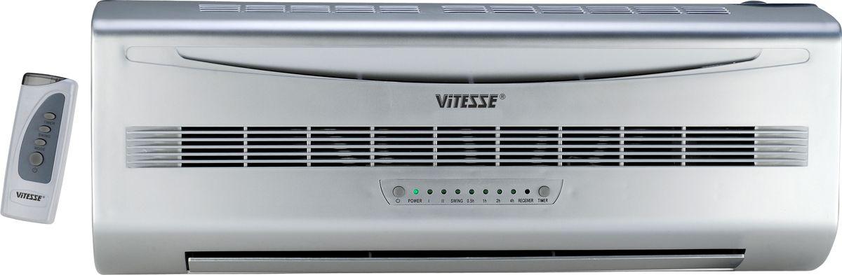 Vitesse VS-891 настенный тепловентиляторVS-891Если вам нужен универсальный прибор, способный освежить в жару и согреть помещение в межсезонье, когда ещё не включено центральное отопление, купите надежный и безопасный настенный керамический тепловентилятор Vitesse VS-891.