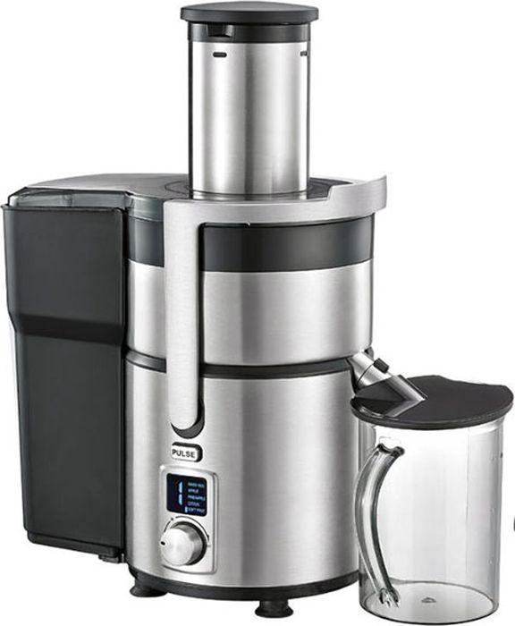 Gemlux GL-PJ-999 соковыжималкаGL-PJ-999Соковыжималка Gemlux GL-PJ-999для фруктов и овощей, электронное управление с ЖК-дисплеем, 5 скоростей, автоматическое отделение отходов, контейнер для сока объемом 0,75 л, контейнер для отходов объемом 2 л, нержавеющая сталь/пластмасса