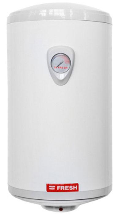 Fresh Dolphin V/F/E 50LT водонагреватель накопительныйFresh DOLPHIN V/F/E 50LTFresh Dolphin V/F/E 50LT - это высококачественный водонагреватель, разработанный для установки на стену. Модель оснащена накопительной емкостью на 50 литров, что даст возможность использовать устройство в качестве резервного или основного источника горячего водоснабжения. Для управления температурой нагрева в нижней части корпуса предусмотрен удобный терморегулятор.Узкий диаметр водонагревателяУлучшенная термоизоляцияМалое потребление электроэнергииДлительное время работыБольшой магниевый анод обеспечивает максимальную защиту от коррозииРегулятор температурыЭлектростатическое полиэфирное покрытие придает приятный глянцевый вид и обеспечивает защитуАналоговый термометрСетевой шнур: 1 мПатрубки вход/выход: 1/2Покрытие бака: эмальИзоляция: 22 ммВремя нагрева с 15°C до 65°C: 115 минВозвратно-предохранительный клапанРабочее давление: 0,3 - 8 атмТолщина внутреннего покрытия бака: 300 микрон