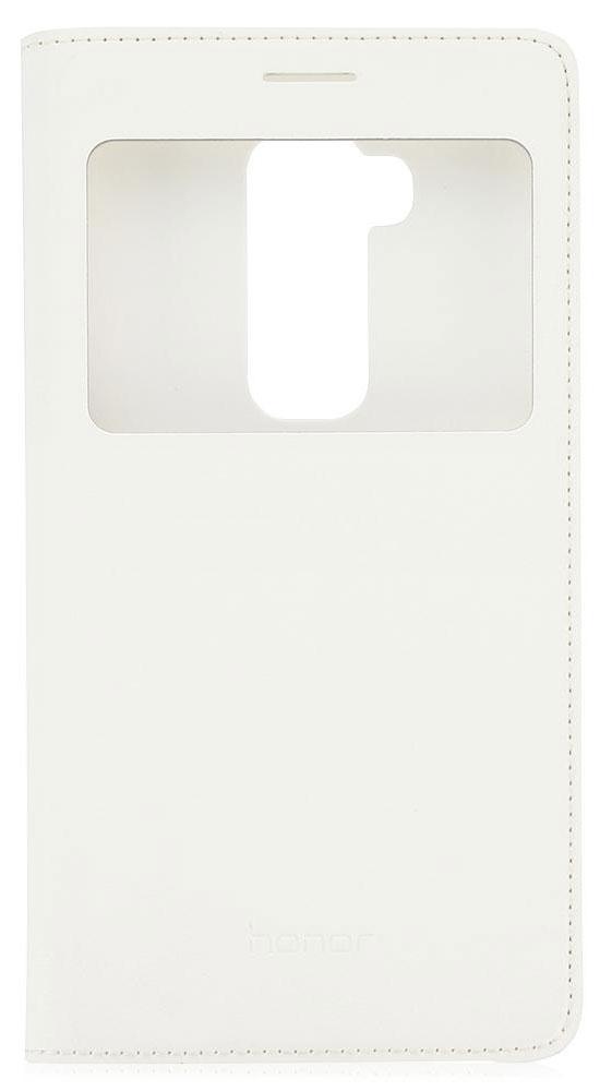 Huawei Smart Cover чехол для Honor 5X, White51991324Чехол Huawei Smart Cover создан специально для смартфона Honor 5X. Он идеально повторяет контуры устройства и обеспечивает ему надежную защиту при падениях. Приятен на ощупь, не скользит в руках и не утяжеляет конструкцию: с ним смартфон сохранит внешний вид и будет защищен от сколов и царапин.