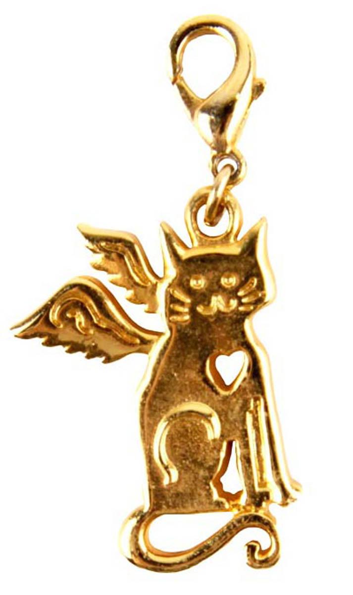 Брелок Веселый кот. сплав. Конец XX века1363053Брелок Веселый кот. сплав. Конец ХХ века. Размер 2,5 х 2 см. Сохранность хорошая. Предмет не был в использовании. Оригинальный брелок выполнен из бижутерного сплава золотого тона. Идеально подойдет для стильных и ярких.