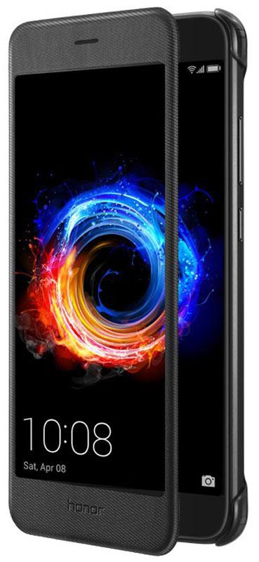 Huawei Smart Cover чехол для Honor 8 Pro, Black51991951Защитный чехол Huawei Smart Cover создан специально для смартфона Honor 8 Pro. Он идеально повторяет контуры устройства и обеспечивает ему надежную защиту при падениях и ударах. Чехол приятен на ощупь, не скользит в руках и не утяжеляет конструкцию: с ним смартфон сохранит внешний вид и будет защищен от сколов, царапин и потертостей.