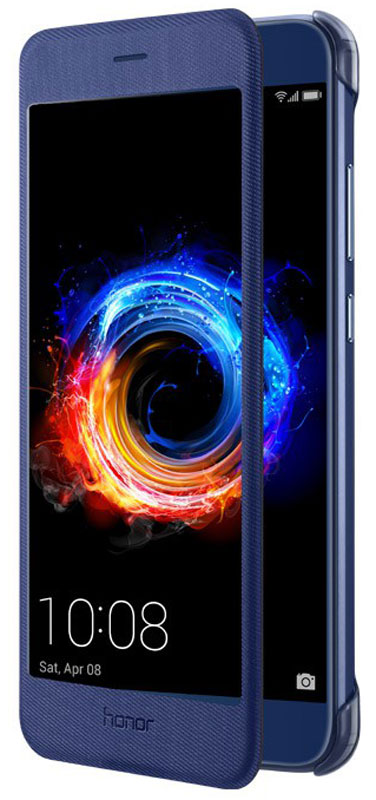 Huawei Smart Cover чехол для Honor 8 Pro, Blue51991952Защитный чехол Huawei Smart Cover создан специально для смартфона Honor 8 Pro. Он идеально повторяет контуры устройства и обеспечивает ему надежную защиту при падениях и ударах. Чехол приятен на ощупь, не скользит в руках и не утяжеляет конструкцию: с ним смартфон сохранит внешний вид и будет защищен от сколов, царапин и потертостей.