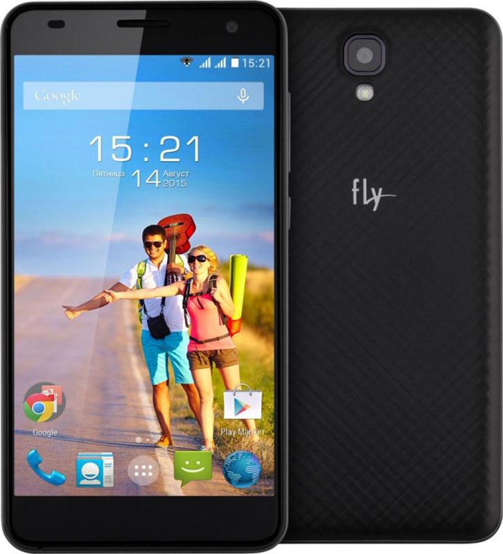 Fly Cirrus 8 FS514, Black - Смартфоны