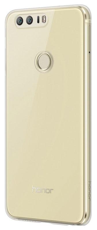 Huawei TPU Case чехол для Honor 8, Transparent51991678Защитная накладка Huawei TPU Case специально разработана для смартфона Honor 8. Она идеально повторяет контуры устройства и обеспечивает надежную защиту при падениях. Материал чехла приятен на ощупь, не скользит в руках и не утяжеляет конструкцию. С защитной накладкой смартфон сохранит свой внешний вид и будет защищен от сколов и царапин.