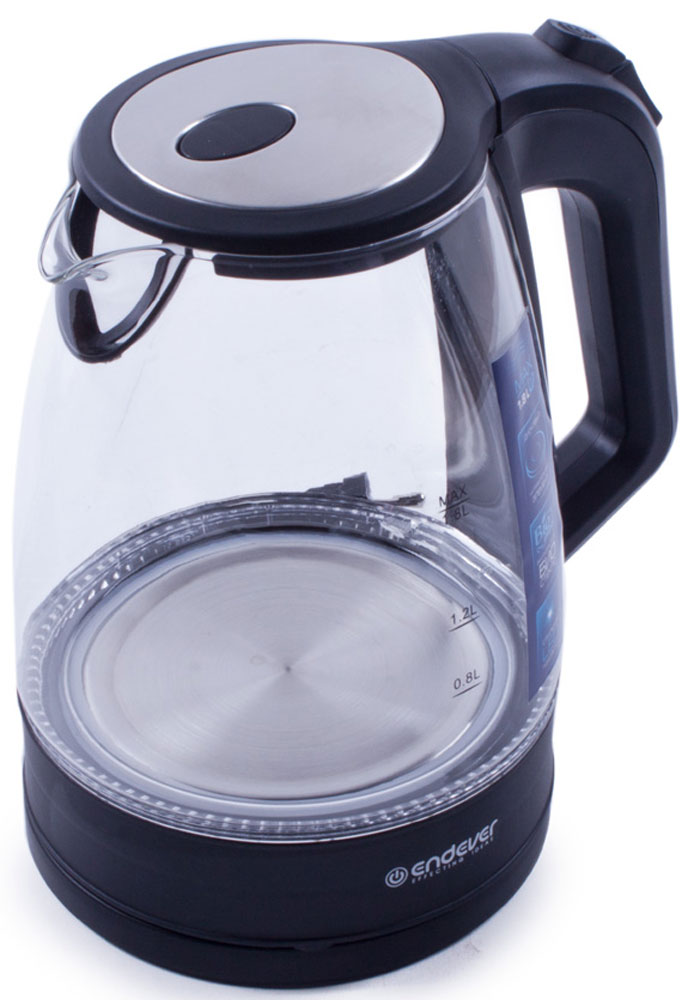 Endever Skyline KR-326G, Black чайник электрический endever skyline kr 307g