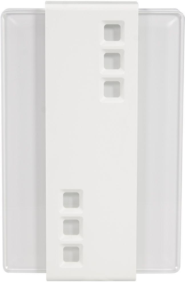 Звонок электромеханический Zamel VetroGNS 247 230V (GNS 247/A 230V)Характеристики:- электромеханический гонг,- корпус из пластмассы, накрытый пластиной закаленного стекла (толщиной 8 мм) и декоративной накладкой белого цвета, - современный элегантный дизайн,- звонок: 2 тона - Бим-Бам, долго раздающиеся, - потребляемая мощность 11 Вт,-уровень звука: ок. 85 dB.