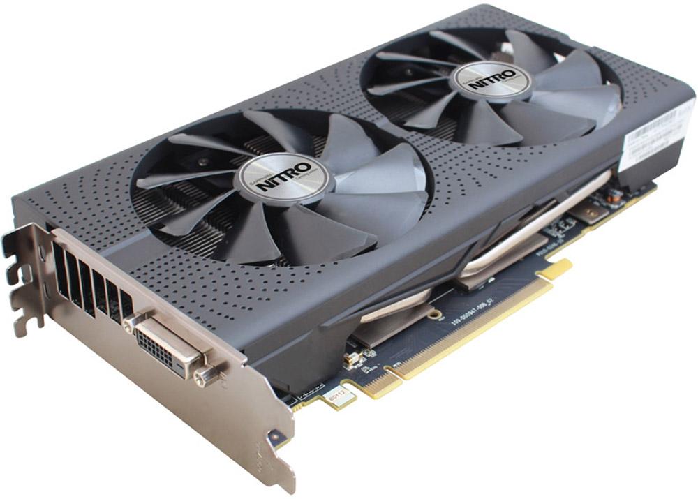 Sapphire Nitro Radeon RX 470 8GB видеокарта (11256-32-10G)11256-32-10GВидеокарта SAPPHIRE NITRO Radeon RX 470 следующий шаг в игровой производительности в разрешении 1080p. Конструкция моделей серии SAPPHIRE NITRO сочетает особенности архитектуры Polaris с фирменной системой охлаждения и эстетикой NITRO RX 470. Графические процессоры Polaris также означают поддержку асинхронных шейдеров, увеличение кэш-памяти и новые возможности обработки геометрии для обеспечения максимальной производительности в DirectX 12.Фирменное охлаждение Dual-X от SAPPHIRE - это два тихих вентилятора увеличенного размера и современный радиатор. Новая форма лопастей 95-миллиметровых вентиляторов позволяет обеспечить более эффективную циркуляцию воздуха и уменьшить уровень шума по сравнению с предыдущими моделями.Вентиляторы, применяющиеся в видеокартах SAPPHIRE NITRO Radeon RX 470, поддерживают систему Quick Connect. Это значит, что их можно с легкостью снять, очистить и заменить, поскольку они надежно фиксируются всего одним винтом, и разбирать кожух или иные элементы видеокарты не потребуется.В данной видеокарте установлены модули памяти от Samsung.