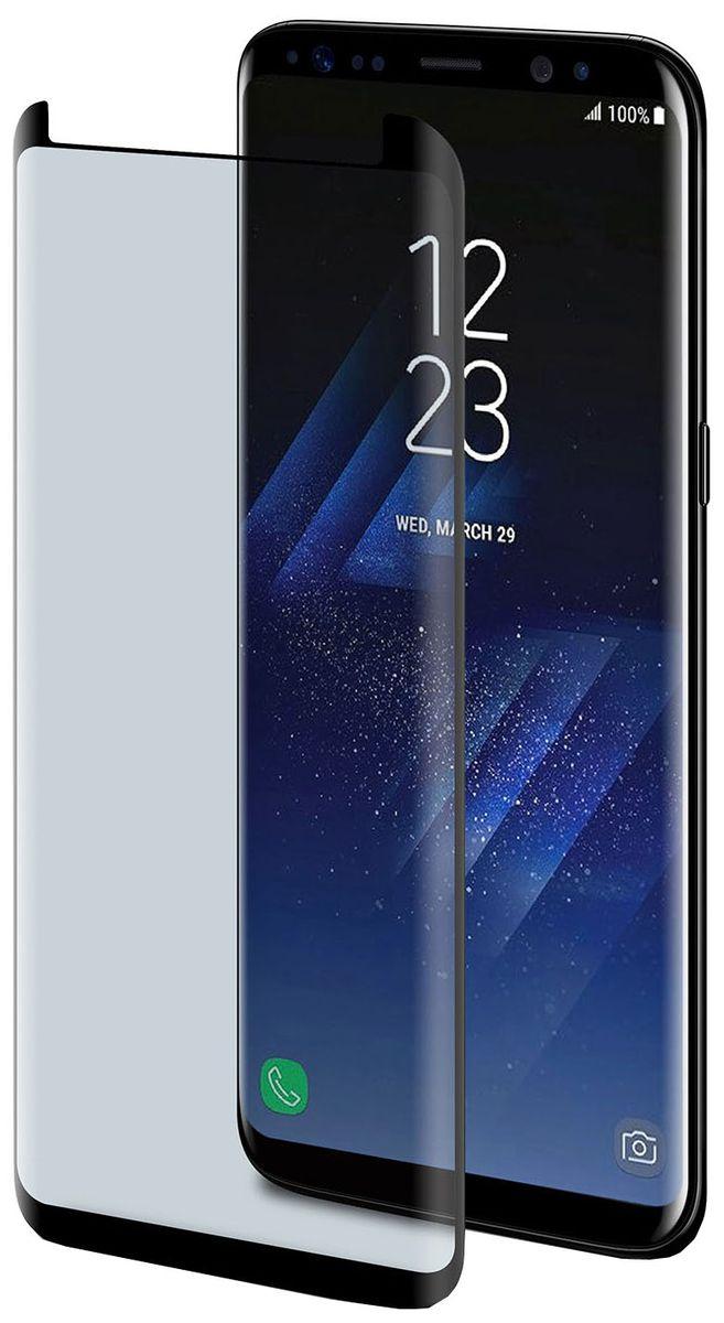 Celly Full Glass защитное стекло для Samsung Galaxy S8, Black - Защитные стекла и пленки