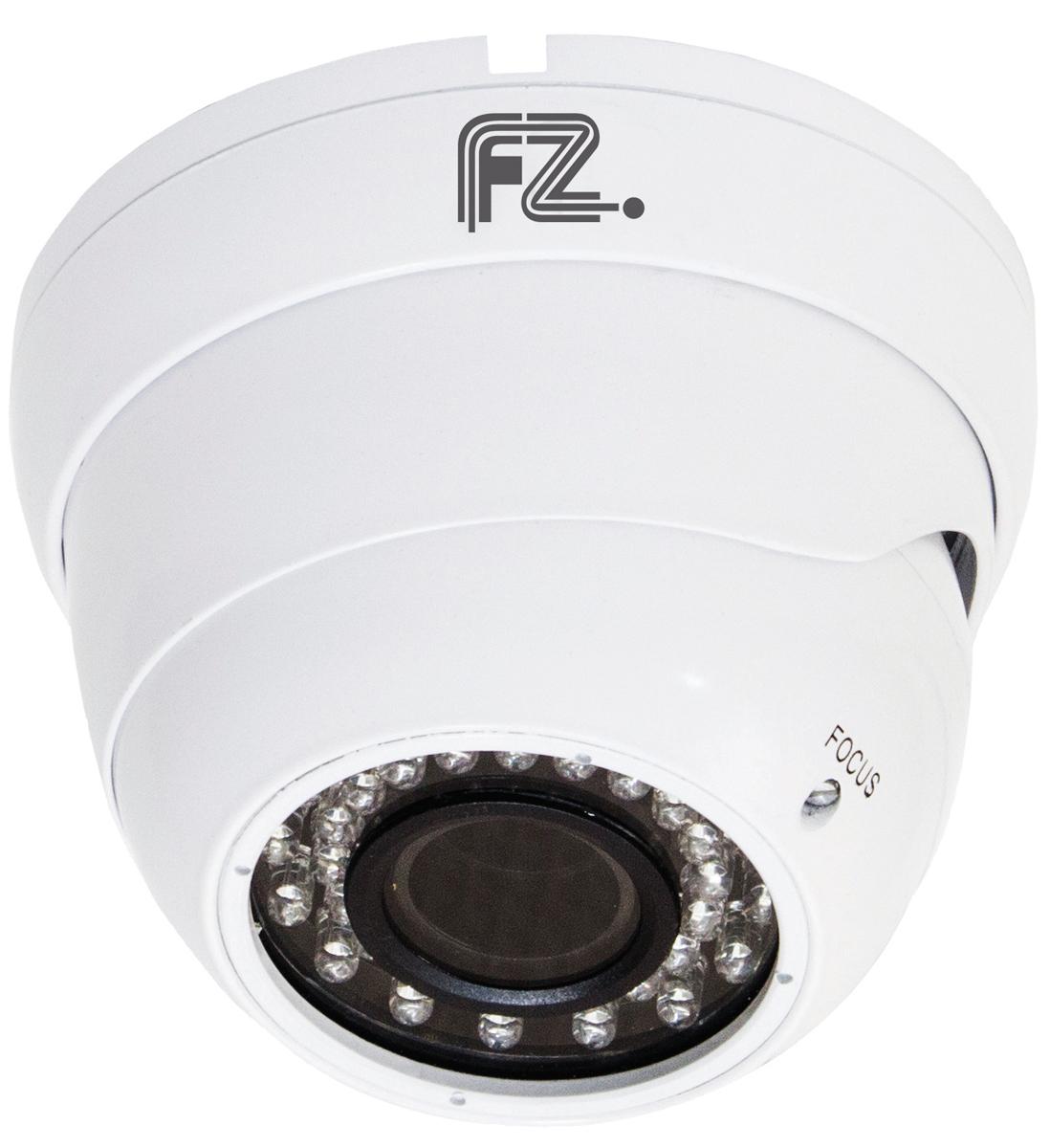 Fazera zIPCam-DVIR36-720 камера видеонаблюденияzIPCam-DVIR36-720IP Видеокамера купольная уличная с ИК подсветкой c разрешением 720p и вариофокальным объективом 2.8-12мм