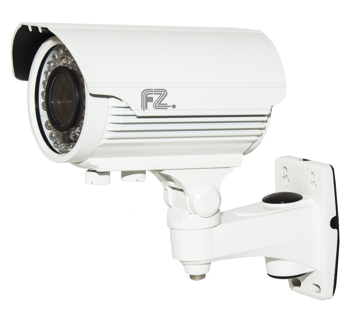 Fazera FZ-VIR42-720(N) камера видеонаблюденияFZ-VIR42-720 (N)IP Видеокамера купольная уличная с ИК подсветкой c разрешением 720p и вариофокальным объективом 2.8-12мм