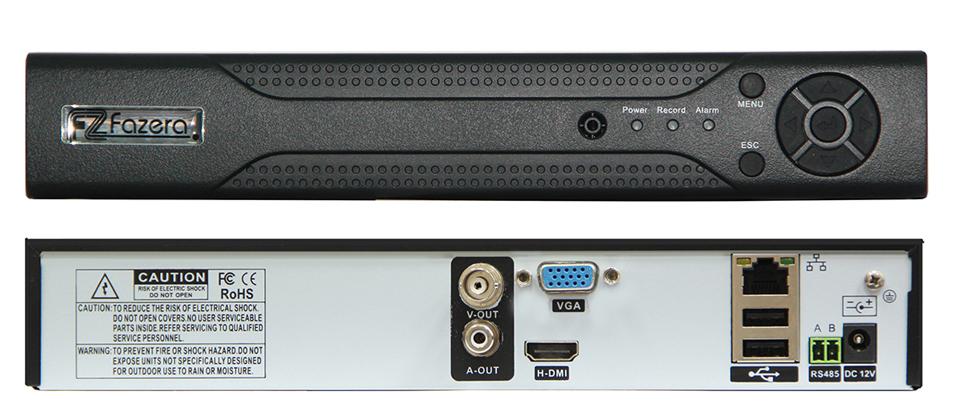 Fazera FZ-08N01 сетевой видеорегистратор - Регистратор