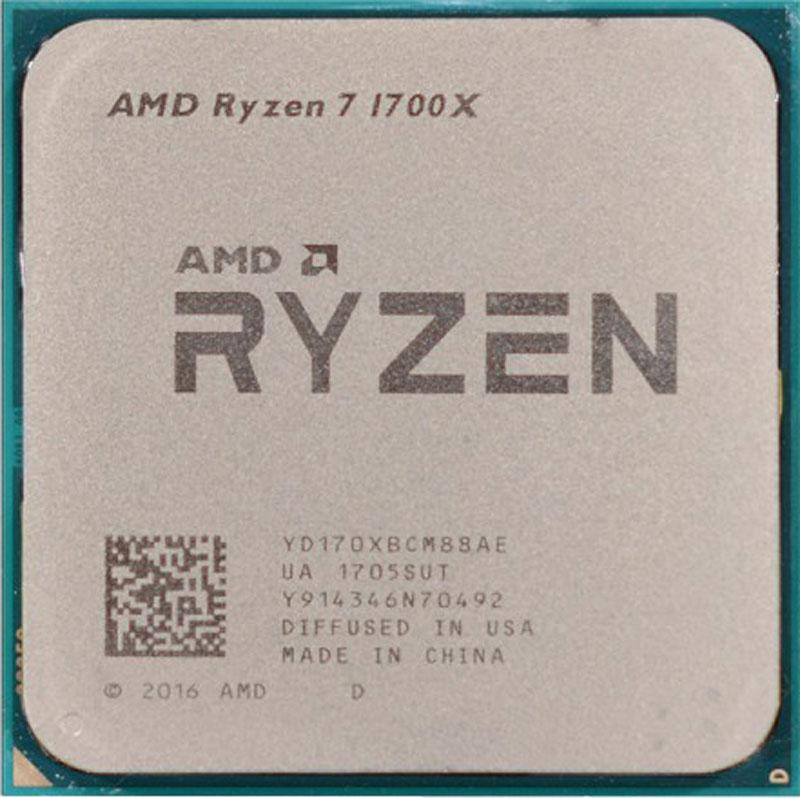 AMD Ryzen 7 1700X процессор2941569130648AMD Ryzen 7 1700X обеспечивает невероятную многоядерную производительность. Настоящий машинный интеллект с 8 процессорными ядрами, 16 потоками и технологией Extended Frequency Range с улучшенным охлаждением.Поддерживаемые технологии:Программа AMD Ryzen Master - инструмент для оптимизации производительности процессора AMD Ryzen.Каждый процессор AMD Ryzen имеет множитель тактовой частоты, разблокированный производителем, поэтому вы можете настраивать производительность процессора в зависимости от своих потребностей. Утилита AMD Ryzen Master предоставляет до четырех профилей для хранения заданных пользователем настроек тактовой частоты и напряжения как для центрального процессора Ryzen, так и для памяти DDR4.Архитектура ядра Zen Высокоэффективная архитектура ядра x86 Zen от AMD обеспечивает увеличение производительности на более чем 52 % по показателю IPC (число команд, выполняемых за цикл) по сравнению с архитектурой AMD предыдущего поколения без увеличения энергопотребления.Технология AMD SenseMIAESAVX2FMA3AMD ВиртуализацияТехнология XFR (расширенный частотный диапазон)