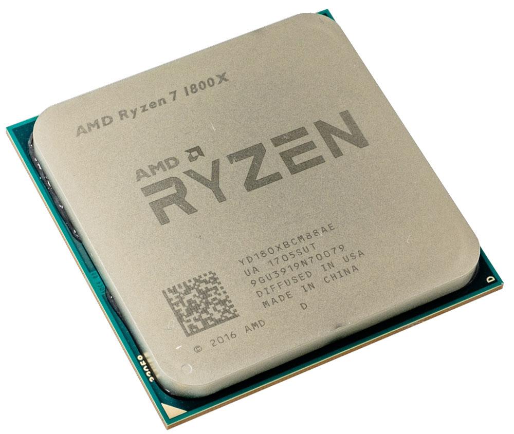 AMD Ryzen 7 1800X процессор2759446814594AMD Ryzen 7 1800X обеспечивает рекордную производительность с архитектурой Zen для настольных ПК. Благодаря 8 ядрам процессора, 16 потокам и наивысшей тактовой частоте на новой платформе Socket AM4 доступен истинный машинный интеллект.Поддерживаемые технологии:Программа AMD Ryzen Master - инструмент для оптимизации производительности процессора AMD Ryzen.Каждый процессор AMD Ryzen имеет множитель тактовой частоты, разблокированный производителем, поэтому вы можете настраивать производительность процессора в зависимости от своих потребностей. Утилита AMD Ryzen Master предоставляет до четырех профилей для хранения заданных пользователем настроек тактовой частоты и напряжения как для центрального процессора Ryzen, так и для памяти DDR4.Архитектура ядра Zen Высокоэффективная архитектура ядра x86 Zen от AMD обеспечивает увеличение производительности на более чем 52 % по показателю IPC (число команд, выполняемых за цикл) по сравнению с архитектурой AMD предыдущего поколения без увеличения энергопотребления.Технология AMD SenseMIAESAVX2FMA3AMD ВиртуализацияТехнология XFR (расширенный частотный диапазон)