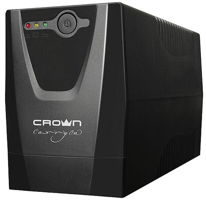 Crown CMU-650X IEC ИБПCM000001507Источник бесперебойного питания Crown CMU-650X IEC позволяет обеспечить надежное резервное электропитание для персональных компьютеров, сетевого, коммуникационного оборудования и других электронных устройств от перепадов, скачков, провалов напряжения и полного исчезновения напряжения в электросети. Микропроцессорное управлениеLED и звуковая индикация состоянияAVR стабилизаторЗапуск ИБП при отсутствии напряжения в сетиХолодный старт ИБПФорма напряжения: ступенчатая аппроксимация синусоидыВремя переключения: 2-4 мс, включая время определения