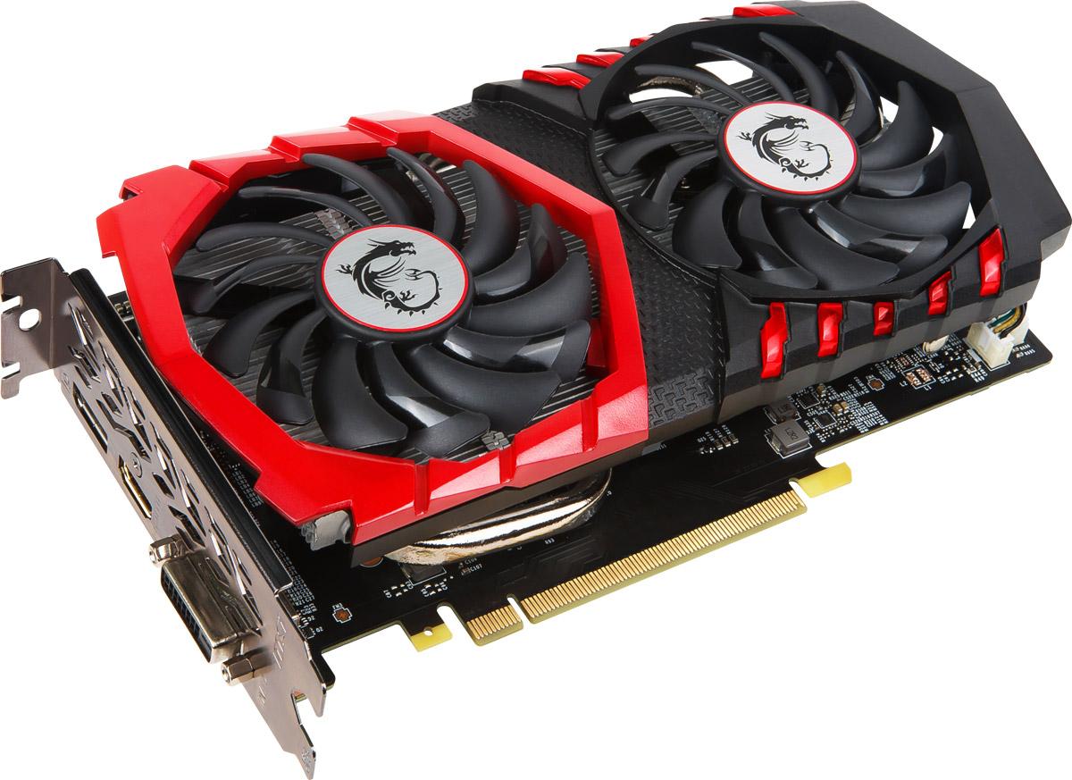 MSI GeForce GTX 1050 Gaming X 2GB видеокартаGTX 1050 GAMING X 2GВидеокарта MSI PCI-E GTX 1050 GAMING X 2G NV GTX1050 2048Mb 128b GDDR5 1354/7108 DVIx1/HDMIx1/DPx1/H
