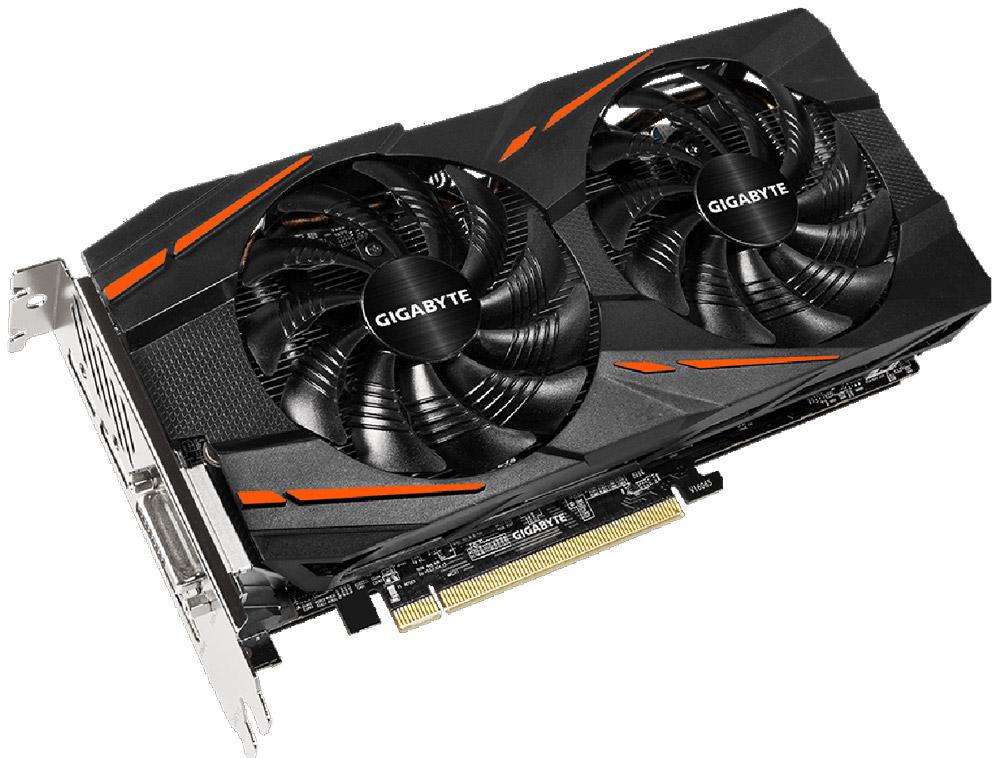 Gigabyte Radeon RX 580 Gaming 4GB видеокартаGV-RX580GAMING-4GDВидеокарта Gigabyte PCI-E GV-RX580GAMING-4GD AMD RX580 4096Mb 256b GDDR5 1340/7000 DVIx1/HDMIx1/DPx3