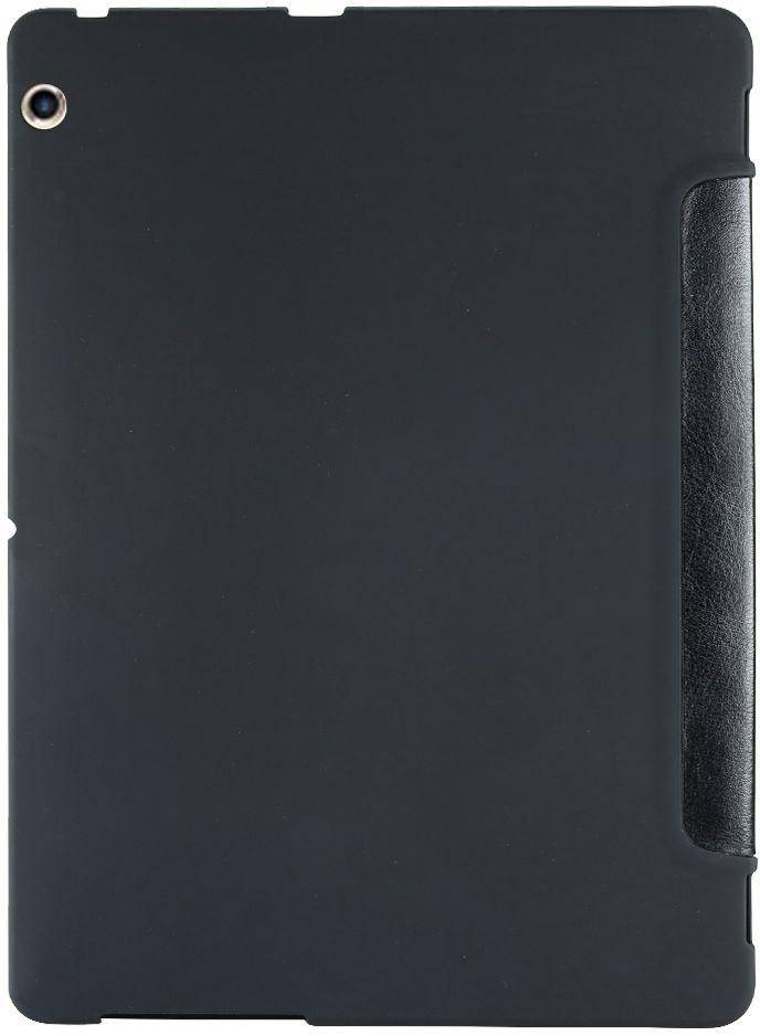 IT Baggage чехол для Huawei MediaPad T3 10, BlackITHWT3105-1Чехол для планшета IT BAGGAGE надежно защищает планшет от случайных ударов и царапин, а так же от внешних воздействий, грязи, пыли и брызг. Крышка используется как подставка по устройство. Чехол обеспечивает свободный доступ ко всем функциональным кнопкам.
