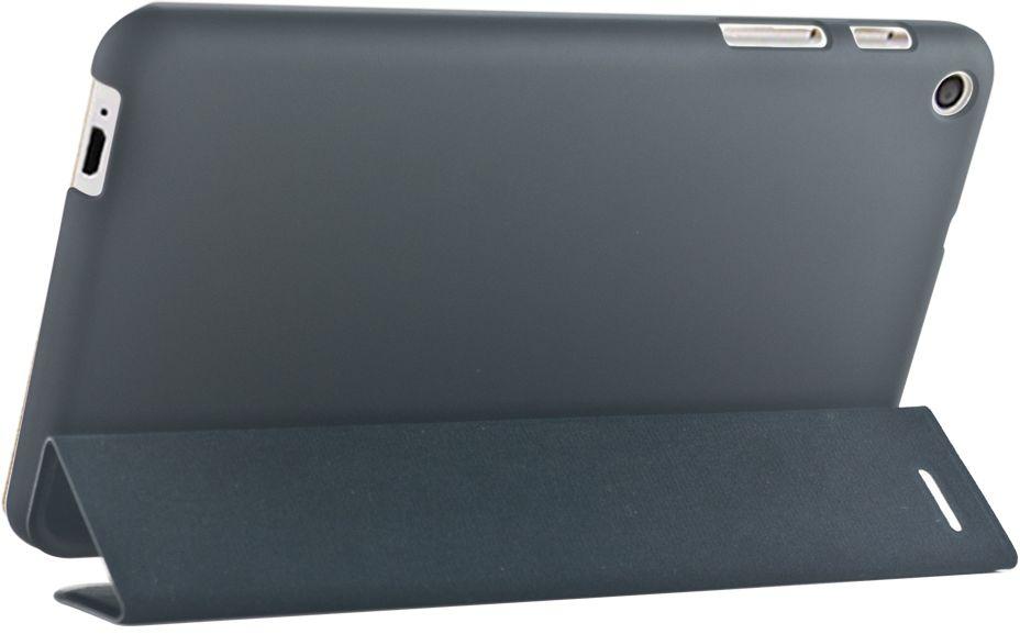 IT Baggage чехол для Huawei MediaPad T3 8, BlackITHWT3805-1Чехол для планшета IT BAGGAGE надежно защищает планшет от случайных ударов и царапин, а так же от внешних воздействий, грязи, пыли и брызг. Крышка используется как подставка по устройство. Чехол обеспечивает свободный доступ ко всем функциональным кнопкам.