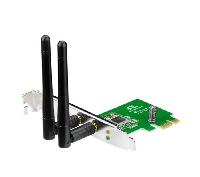 ASUS PCE-N15PCE-N15Беспроводной адаптер Asus PCE-N15 стандарта N (300 Мбит/с) с интерфейсом PCI-Express.Программная точка доступаРежим программной точки доступа (Software AP) позволяет WLAN-адаптеру работать в качестве виртуальной точки доступа. Чтобы обеспечить доступ к сети беспроводным клиентам, Ваш компьютер должен быть подключен к локальной сети через интерфейс Ethernet.