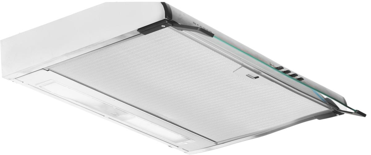 Faber 741 PB A50, Steel вытяжка110.0156.712Вытяжка Faber 741 PB A50 — компактность и высокая производительность. Электромеханическое управление отличается простотой и надежностью. Фильтр пригоден для мытья в посудомоечной машине, что повышает комфорт использования.Ключевые преимущества:Низкий уровень шума3 скоростиГалогенная подсветкаДиаметр воздуховода: 100/120 мм