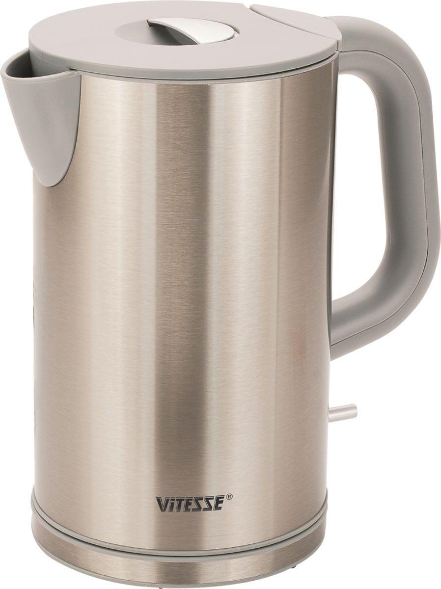 Vitesse VS-107 электрочайникVS-107Благодаря электрочайнику Vitesse VS-107 Вам не нужно ждать, пока вода закипит на плите - электрочайник сделает это всего за несколько секунд! Чайники Vitesse – это гарантия качества и безопасности. Французская фирма, которая поставляет посуду и кухонные принадлежности на мировой рынок уже много лет, славится своим высоким качеством продукции, внимательным отношением к потребителю и гарантией безопасности электроприборов, которые имеют прочную сборку и хорошие материалы, поэтому прослужат Вам долго! Vitesse предлагает широкий ассортимент электрочайников с набором разных функций, с различными дизайнами, каждый из которых подойдет под тот или иной стиль кухни.