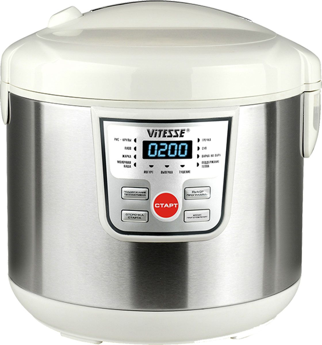 Vitesse VS-581 мультиварка, White