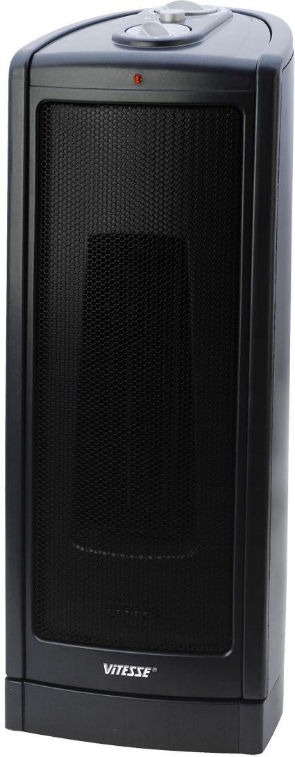Vitesse VS-865VS-865Напольный керамический тепловентилятор Vitesse VS-865. Если Вам нужен универсальный прибор, способный освежить в жару и согреть помещение в межсезонье, когда ещё не включено центральное отопление, купите надежный и безопасный керамический тепловентилятор Vitesse.