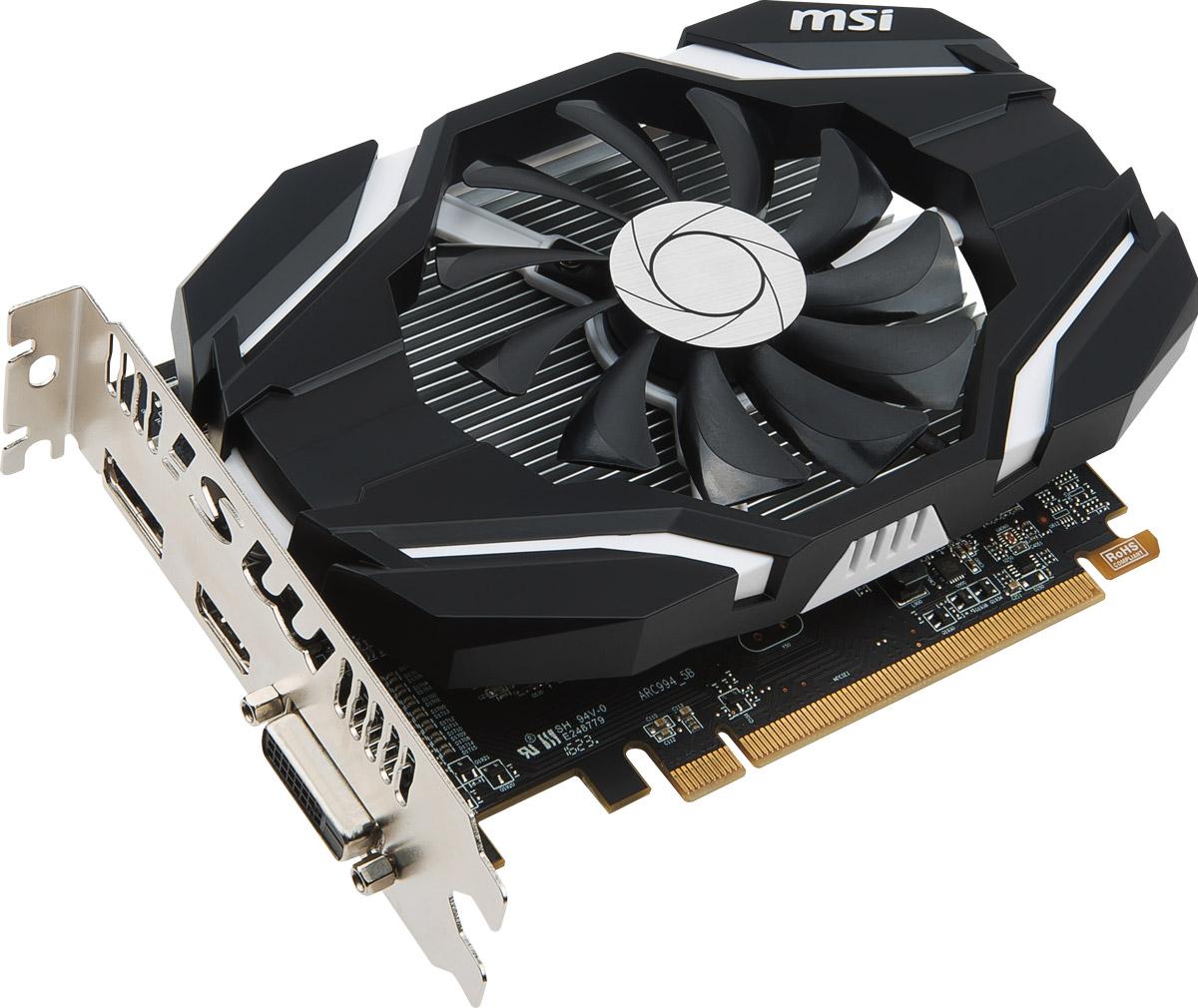 MSI Radeon RX 460 OC 2GB видеокартаRX 460 2G OC MSI