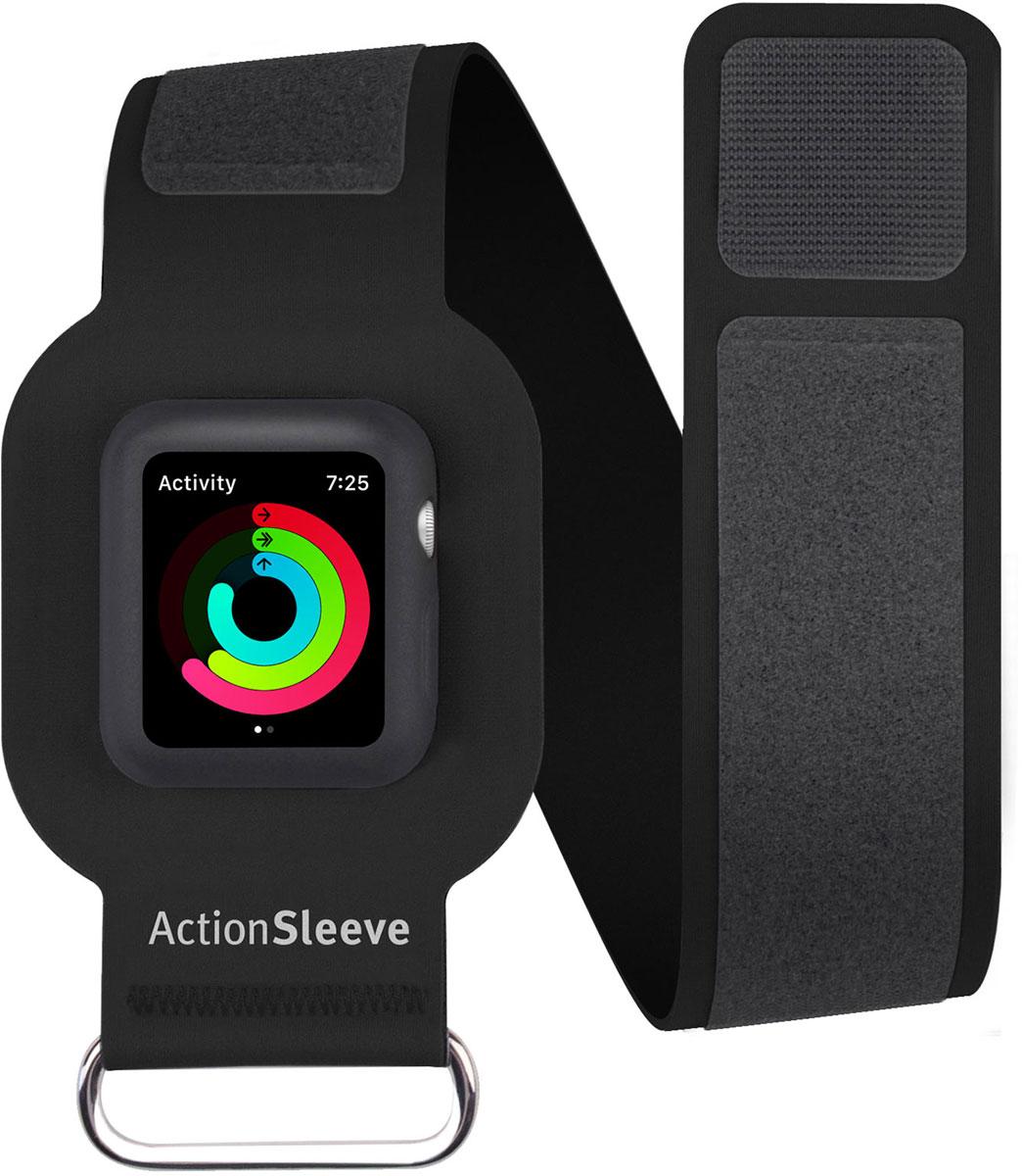 Twelve South Action Sleeve Armband чехол для Apple Watch 42mm, Black (Размер L)