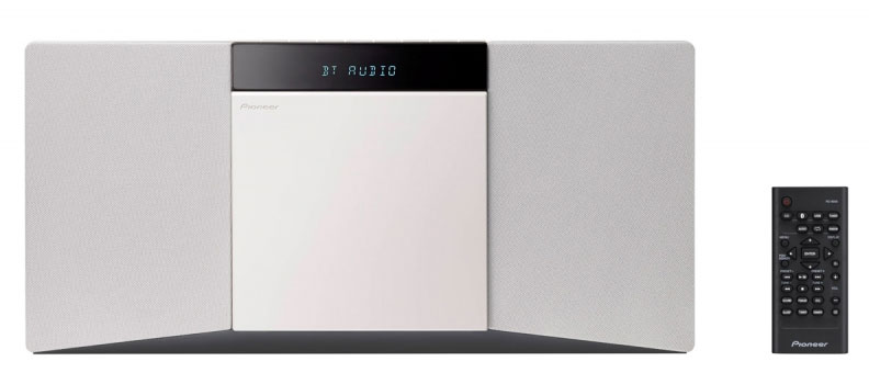 Pioneer X-SMC02-W, White микросистема - Музыкальные центры