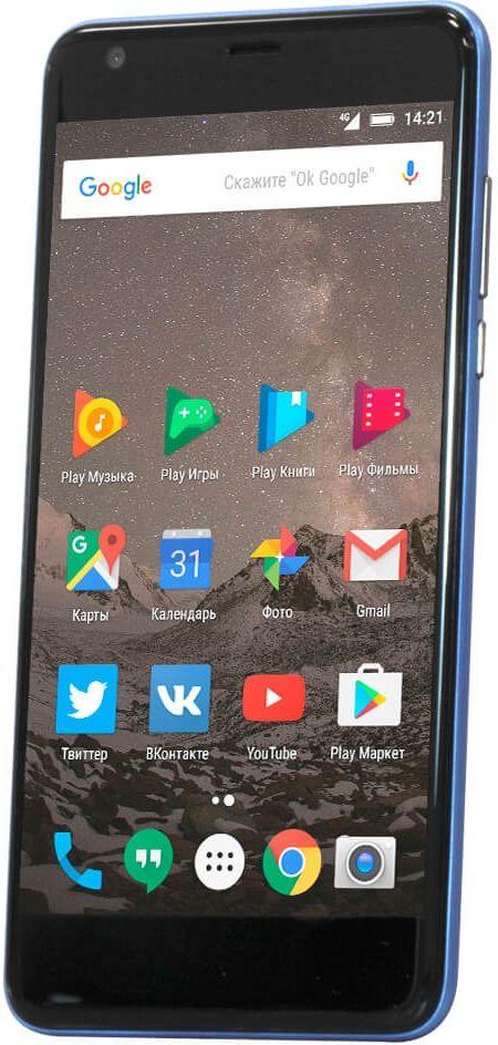 Highscreen Easy XL, Blue23849Highscreen Easy XL - простой и доступный смартфон с большим и ярким экраном, поддержкой 4G/LTE и ГЛОНАСС.Выбери свой Easy XL. Четыре дерзких цвета из которых ты точно выберешь свой. Матовый корпус имеет прекрасную эргономику и сбалансированные размеры.Оптимальный для контента. Яркий и контрастный 5.5 HD-экран, выполненный по технологии OnCell, обеспечивает естественную цветопередачу и моментальный отклик. Скругленные края (2.5D) помогают легче и быстрее взаимодействовать с ним.Easy XL работает на базе чистого Android Marshmallow, Highscreen преднамеренно не ставит дополнительные приложения и игры, чтобы не занимать лишнюю память и дать тебе свободу выбора.Правильная и точная навигация. Ощути всю прелесть точной навигации, ты сможешь точно определять свое местоположение и быстро прокладывать маршруты из точки A в точку B.Универсальный пульт управления. Ты сможешь управлять домашней техникой благодаря встроенному ИК-порту в твоем Easy XL, просто загрузив специальное приложение из Google Play.Телефон сертифицирован EAC и имеет русифицированный интерфейс меню и Руководство пользователя.