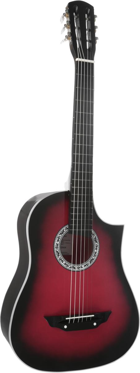 Аккорд Classic 1, Burgundy акустическая гитараPH7243_BurgundyАккорд Classic 1 - 6-струнная акустическая гитара с мензурой 670 мм. Данная модель покрыта лаком. Этот прекрасный инструмент, который станет вашим верным спутником в любой ситуации. Эту гитару вы всегда сможете взять с собой на природу. Корпус не требует постоянного ухода, увлажнения и поддержания нужной температуры в помещении.