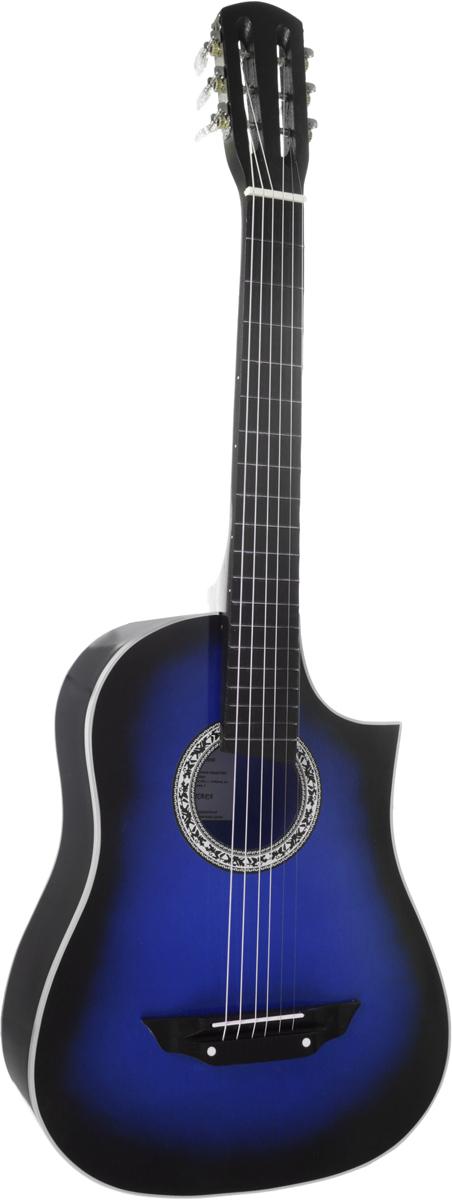 Аккорд Classic 1, Blue акустическая гитараPH7243_blueАккорд Classic 1 - 6-струнная акустическая гитара с мензурой 670 мм. Данная модель покрыта лаком. Этот прекрасный инструмент, который станет вашим верным спутником в любой ситуации. Эту гитару вы всегда сможете взять с собой на природу. Корпус не требует постоянного ухода, увлажнения и поддержания нужной температуры в помещении.