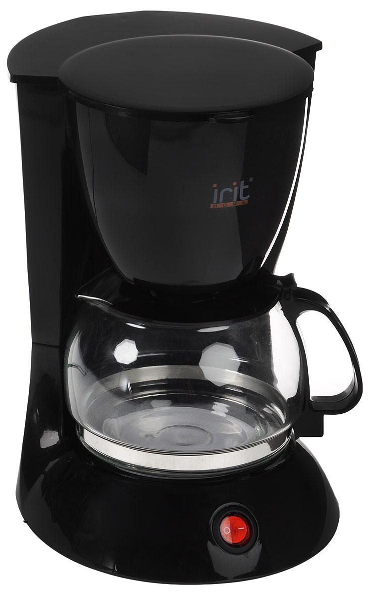 Irit IR-5051 кофеваркаIR-5051Irit IR-5051 - капельная кофеварка, которая порадует вас ароматным и невероятно вкусным кофе, с которым очень приятно начинать утро.Корпус выполнен из высококачественных и безопасных материалов, которые не влияют на вкус напитка. Съемный фильтр удобен в очистке. Благодаря оптимальной мощности, напитки готовятся за считанные минуты, и вы в короткое время сможете насладиться ароматным кофе. Плитка для подогрева сохранит свежезаваренный кофе горячим.
