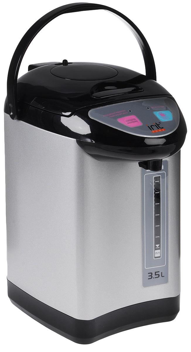Irit IR-1413 термопотIR-1413Термопот Irit IR-1413 поможет не только вскипятить или подогреть воду, но и сохранить ее температуру на заданном уровне в течение нескольких часов. Благодаря этому вы избавите себя от частого подогрева воды, что, в свою очередь, обеспечит вполне реальную экономию электроэнергии. Имеет 3 способа подачи воды: автоматическое, касание чашки и нажатие помпы.