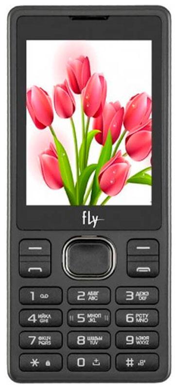 Fly FF282, Black10090Мобильный телефон Fly FF282 оснащен 2,4-дюймовым полноцветным дисплеем, удобным для повседневного использования. Применение технологии TN QVGA делает изображение на нем ярким и контрастным в любой ситуации.Встроенное ПО устройства позволяет воспроизводить аудио- и видеофайлы в популярных форматах, а также прослушивать любимые радиопередачи. Мультимедийные файлы можно записывать на карту памяти microSD емкостью до 16 Гб.Полного заряда аккумулятора хватает на 4 часов непрерывного разговора или 200 часов работы в режиме ожидания.Телефон оснащен камерой на 0,3 Мпикс с функцией записи видео, а также Bluetooth-модулем, предназначенным для беспроводной передачи данных.Поддержка двух SIM-карт позволяет использовать телефон в качестве личного и рабочего одновременно. Кроме того, с двумя SIM-картами можно уменьшать расходы, управляя тарифными планами различных мобильных операторов.Телефон сертифицирован EAC и имеет русифицированную клавиатуру, меню и Руководство пользователя.