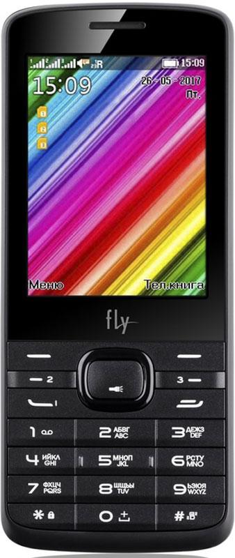 Fly TS113, Black10171Мобильный телефон Fly TS113 оснащен 2,8-дюймовым экраном, созданным с применением технологии TN. За счет этого изображение на нем выглядит четким, ярким и контрастным.Встроенный проигрыватель дает возможность воспроизводить аудио- и видеофайлы популярных форматов. Кроме того, телефон можно использовать в качестве миниатюрного радиоприемника. Fly TS113 читает MP3-файлы и поддерживает работу с картами памяти на 16 Гб. Мобильный телефон помогает экономить на оплате счетов за услуги связи. Он поддерживает две SIM-карты стандартных размеров и одну микро SIM-карту, позволяя менять операторов или тарифы в зависимости от ситуации.Телефон оснащен емким аккумулятором 1000 мАч. Максимальная продолжительность работы устройства в режиме ожидания - 250 часов. При разговоре батареи хватает на 5 часов.Телефон сертифицирован EAC и имеет русифицированную клавиатуру, меню и Руководство пользователя.
