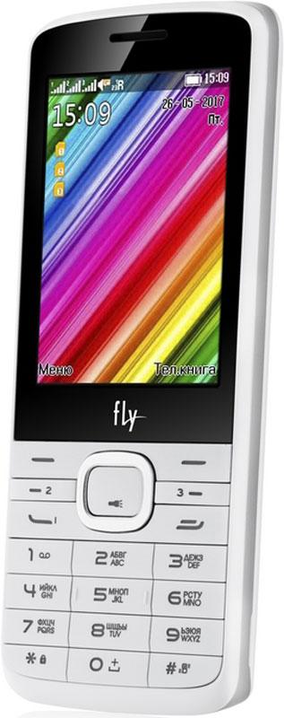 Fly TS113, White10202Мобильный телефон Fly TS113 оснащен 2,8-дюймовым экраном, созданным с применением технологии TN. За счет этого изображение на нем выглядит четким, ярким и контрастным.Встроенный проигрыватель дает возможность воспроизводить аудио- и видеофайлы популярных форматов. Кроме того, телефон можно использовать в качестве миниатюрного радиоприемника. Fly TS113 читает MP3-файлы и поддерживает работу с картами памяти на 16 Гб. Мобильный телефон помогает экономить на оплате счетов за услуги связи. Он поддерживает две SIM-карты стандартных размеров и одну микро SIM-карту, позволяя менять операторов или тарифы в зависимости от ситуации.Телефон оснащен емким аккумулятором 1000 мАч. Максимальная продолжительность работы устройства в режиме ожидания - 250 часов. При разговоре батареи хватает на 5 часов.Телефон сертифицирован EAC и имеет русифицированную клавиатуру, меню и Руководство пользователя.