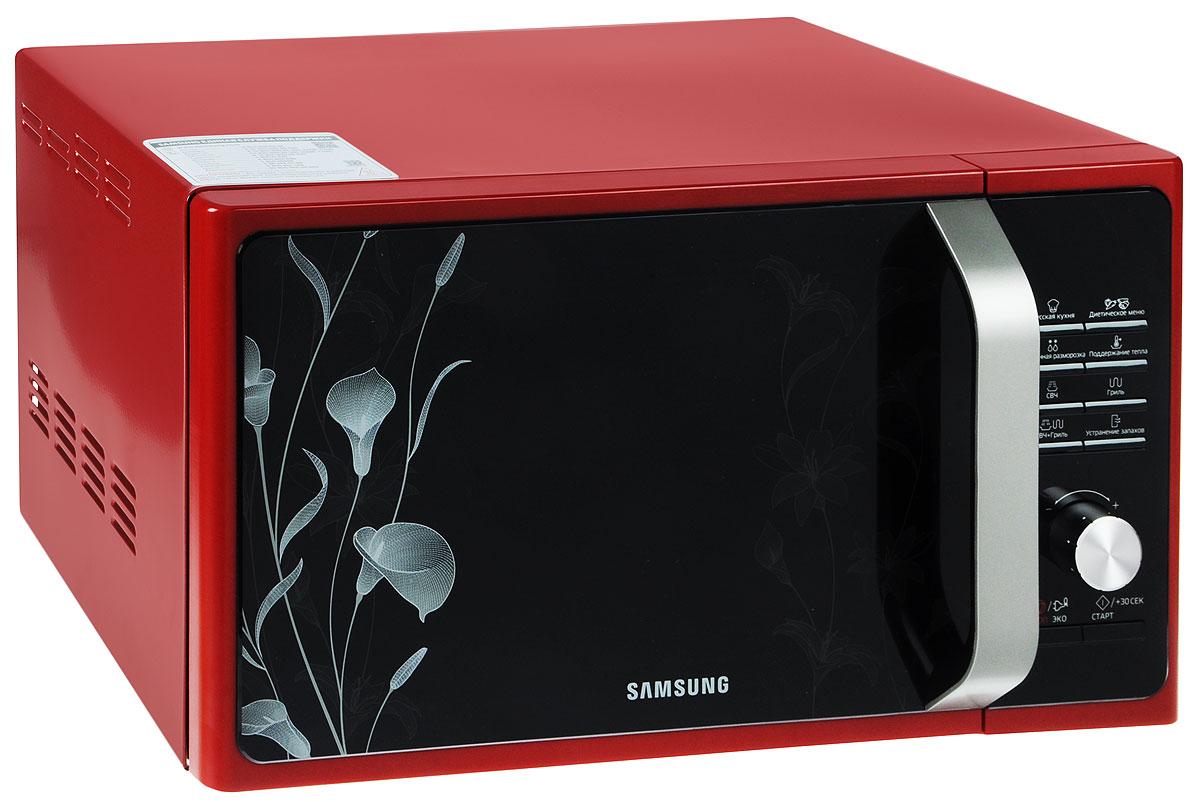 Samsung MG23F301TFR, Red СВЧ-печь