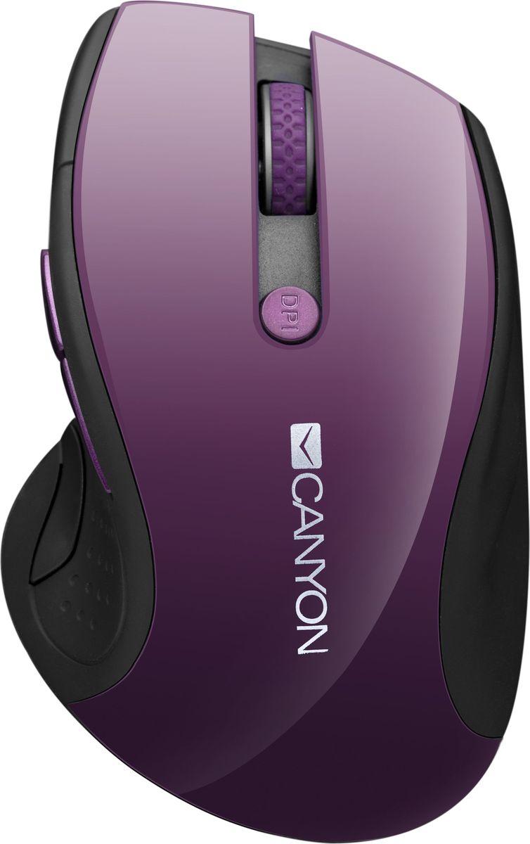 Canyon CNS-CMSW01P, Purple мышь беспроводнаяCNS-CMSW01P