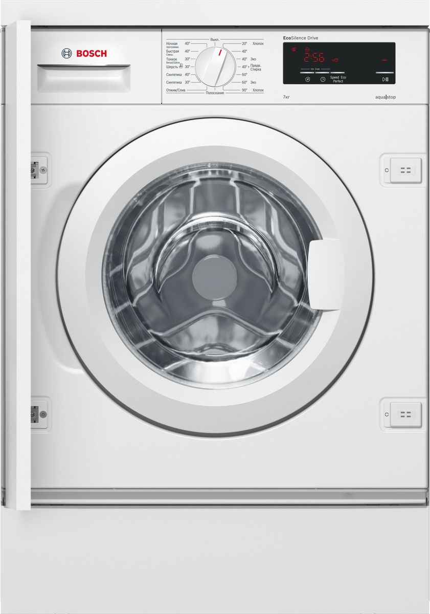 Bosch WIW24340OE, White стиральная машина встраиваемая