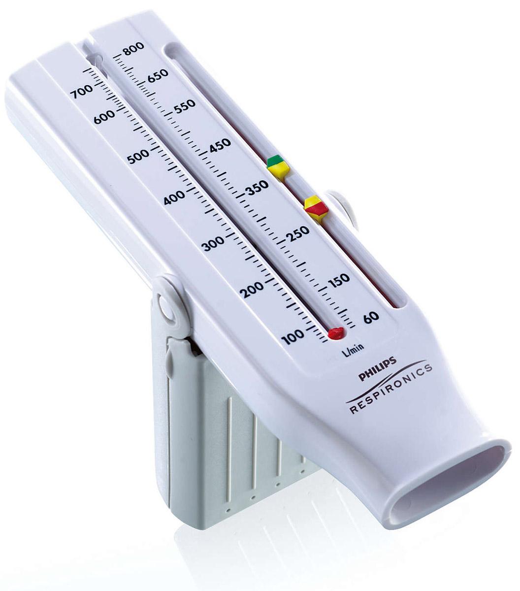 Philips Personal Best HH1327/00 пикфлоуметр полная шкала (для взрослых)1023833Personal Best устанавливает новые стандарты удобства и эффективности использования, а также достоверности данных. Легкая, автономная и портативная конструкция Personal Best предоставляет все инструменты для контроля пикового потока медиками или пациентами в течение всего дня.100% устройств Personal Best проходят контроль качества, который проводится на заводе перед отправкой. Поддержание точности и воспроизводимости данных гарантируется в течение как минимум двух лет.Встроенная ручка помогает пациентам правильно использовать Personal Best. При переноске ручка трансформируется в удобный кейс, который защищает устройство.Встроенная система помогает пациентам соблюдать режимы терапии. Настройки цветных индикаторов можно отрегулировать для обозначения зеленой, желтой и красной зон пациента с учетом персональной пиковой скорости выдоха.Возможность стерилизации обеспечивает гигиеничность. Защита уменьшает риск возникновения перекрестного заражения во время обследования нескольких пациентов, а односторонний клапан предотвращает случайное вдыхание воздуха через пикфлоуметр при оценке пиковой скорости выдоха.Данный пикфлоуметр соответствует или превышает требования стандартов Национальной программы по оповещению и предотвращению астмы в отношении пикфлоуметров, которые основаны на стандартизации спирометрии Американского общества специалистов в области торакальной медицины в редакции 1994 года (26 волн).