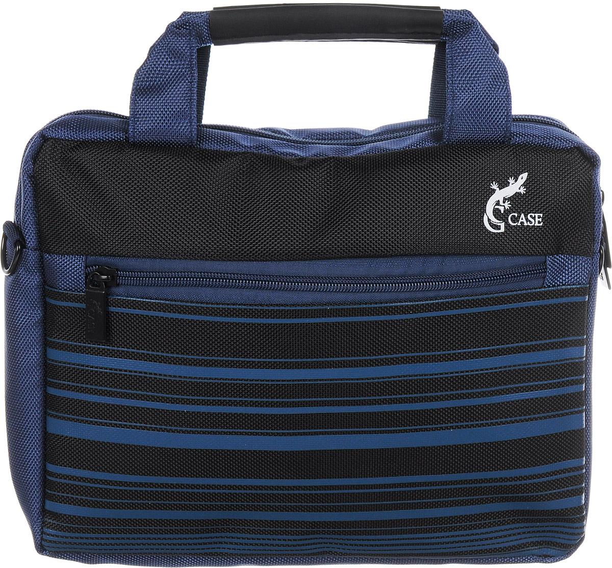 G-case GG-04 cумка для ноутбука 10-11,6, BlueУТ-000048681Сумка для ноутбука G-case с вертикальной загрузкой и с ручкой для переноски на плече. Стенки сумки выполнены из пенообразного материала, благодаря чему Ваш ноутбук защищён от пыли, царапин и ударов.