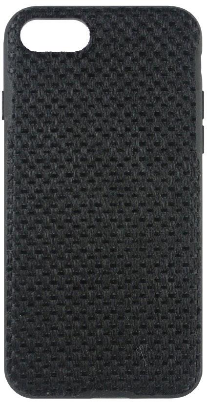 Crayon Fabric Knit чехол для iPhone 7, BlackCRN-FCKIP7-blЧехол изготовлен из термопластичного полиуретана (ТПУ) - материала, который не подвержен замерзанию и резким перепадам температур. То есть телефон в чехле из ТПУ не тормозит на морозе. ТПУ не подвержен деформации, устойчив к разрыву и не проводит электрический ток. Чехол из ТПУ не притягивает пыль, устойчив к царапинам и другим механическим повреждениям, обладает противоударными свойствами. Чехол не утолщает устройство, обеспечия легкий доступ ко всем функциональным клавишам телефона. Внешняя поверхность чехла выполнена из ткани с интересной текстурой. Необычно, стильно, надежно.