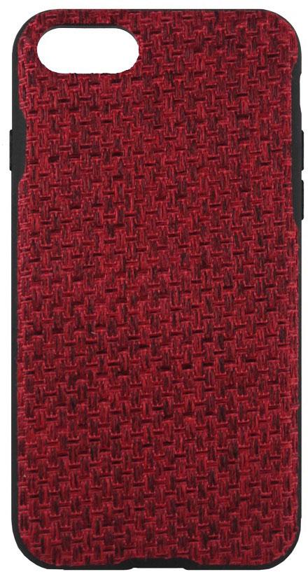 Crayon Fabric Knit чехол для iPhone 7, RedCRN-FCKIP7-redЧехол изготовлен из термопластичного полиуретана (ТПУ) - материала, который не подвержен замерзанию и резким перепадам температур. То есть телефон в чехле из ТПУ не тормозит на морозе. ТПУ не подвержен деформации, устойчив к разрыву и не проводит электрический ток. Чехол из ТПУ не притягивает пыль, устойчив к царапинам и другим механическим повреждениям, обладает противоударными свойствами. Чехол не утолщает устройство, обеспечия легкий доступ ко всем функциональным клавишам телефона. Внешняя поверхность чехла выполнена из ткани с интересной текстурой. Необычно, стильно, надежно.