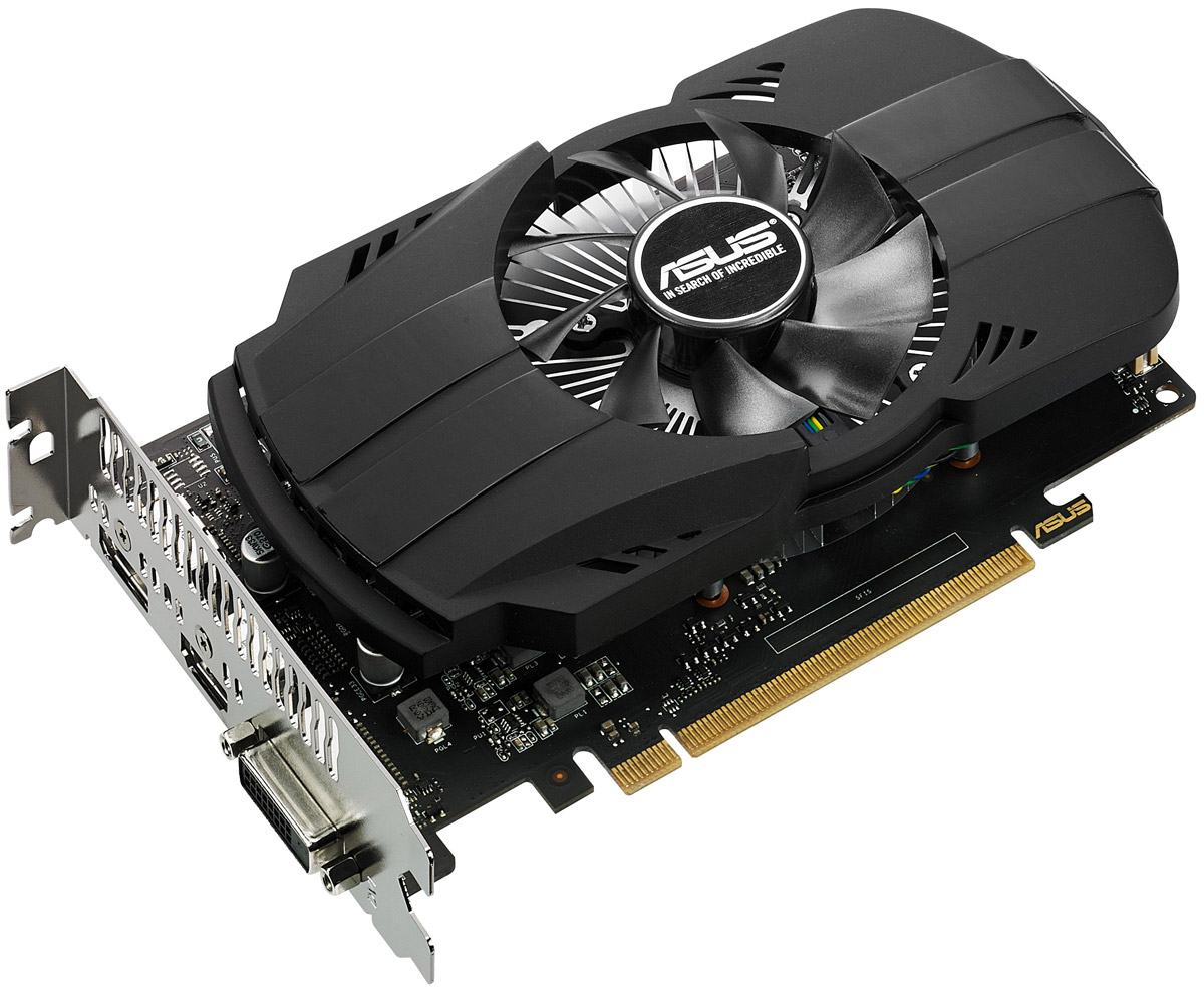 ASUS Phoenix GeForce GTX 1050 Ti 4GB видеокарта