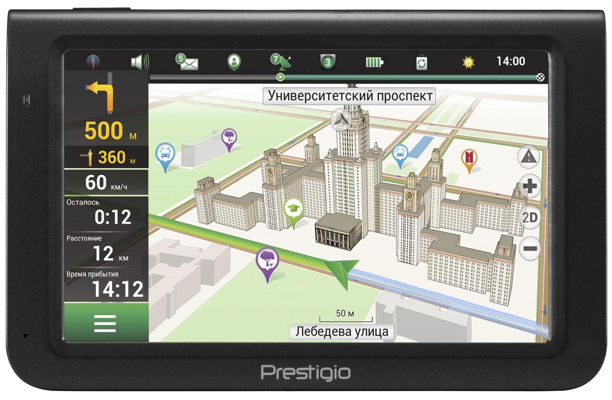 Prestigio PGPS5069CIS04GBNV, Black навигатор