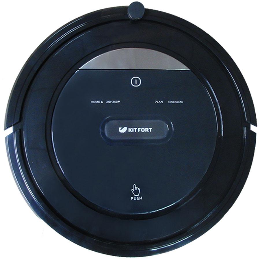 Kitfort КТ-516 робот-пылесосКТ-516Робот-пылесос Kitfort КТ-516 представляет современное поколение роботизированных пылесосов. Он вобрал в себя передовые наработки в этой области: съемную турбощетку, увеличенный объем пылесборника, долговечный аккумулятор, HEPA-фильтр и простоту управления. Kitfort КТ-516 универсален: он может использоваться и с турбощеткой, и без нее. Поэтому он подходит как для уборки ковровых покрытий, так и для уборки твердых поверхностей. Робот-пылесос умеет регулировать мощность всасывания при работе с разными поверхностями. Это позволяет делать уборку более эффективной и увеличивает время работы от аккумулятора.Возможности и функции:- 4 режима уборки: локальный, автоматический, вдоль стен, зигзаг- 5 траекторий движения: зигзаг, по спирали, случайным образом, по прямой, вдоль препятствий- уборка по расписанию- две боковые щетки- влажная уборка- сенсорные кнопки- подсветка экрана- звуковое и речевое сопровождение событий- турбощетка и модуль с всасывающим раструбом- пылесборник легко вынимается вверх.